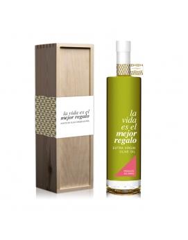 Magnum AOVE Premium 1.500 ml, con caja de madera. Variedad Ecologico